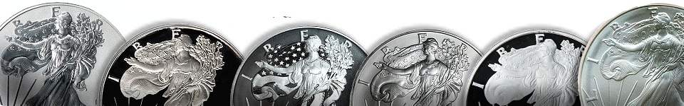 Silver Coins Selection
