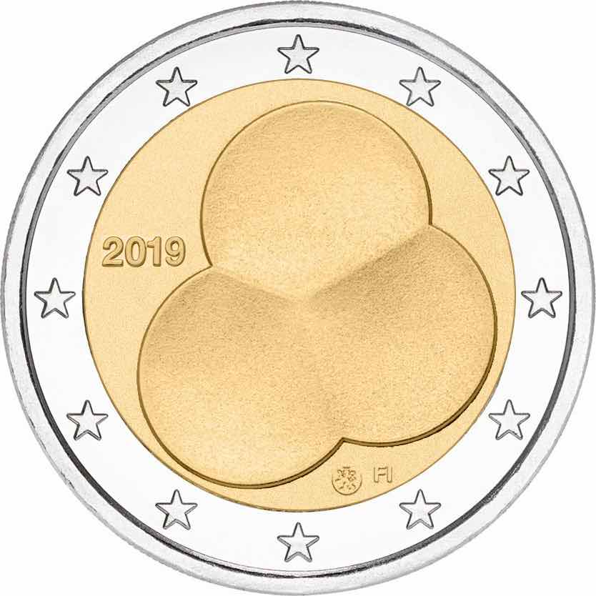 2 euro - Constitution Act of Finland 1919-2019