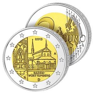 2 Ευρώ, Γερμανία, Μονή Μάουλμπρον, 2013 2 ευρώ  αναμνηστικά 2
