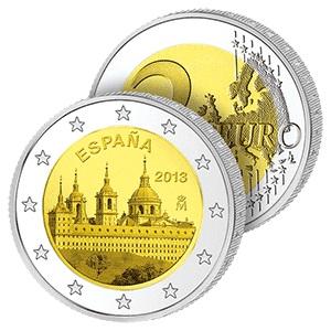 2 Ευρώ, Ισπανία, Μοναστήρι του Εσκοριάλ, 2013 2 ευρώ  αναμνηστικά 2