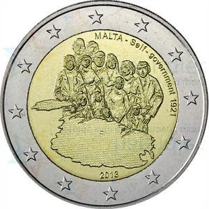 2 Ευρώ, Μάλτα, Νόμισμα για την Αυτοδιοίκηση της Μάλτας, 2013 2 ευρώ  αναμνηστικά 2