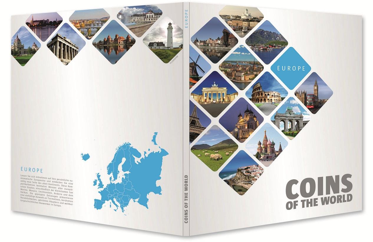 Ταξιδεύω στην Ευρώπη με 48 νομίσματα! συλλογές νομισμάτων