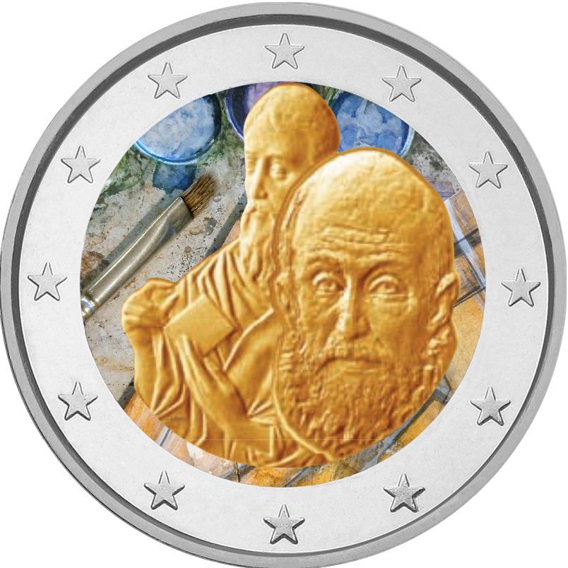 2 €, Έγχρωμο, Ελ Γκρέκο, Ελλάδα, 2014 2 ευρώ