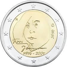 2 Ευρώ, Φινλανδία, Τόβε Γιάνσον, 2014 2 ευρώ  αναμνηστικά 2