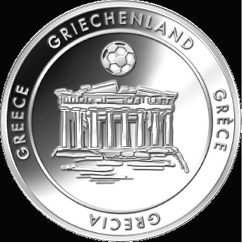 FIFA WCTM ,Ελλάδα Αναμνηστικό Μετάλλιο ,2014 διεθνείς  fifa world cup tm 2014