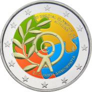 2 Ευρώ, Έγχρωμο, Ελλάδα, Special Olympics, 2011 2 ευρώ