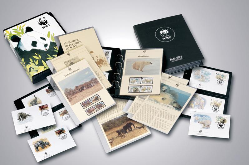 WWF Επίσημη Συλλογή Γραμματοσήμων διεθνείς