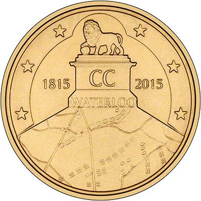 2,5€, Μάχη του Βατερλώ, Βέλγιο 2015 θεματικά 2 5 5 10  20  νομίσματα