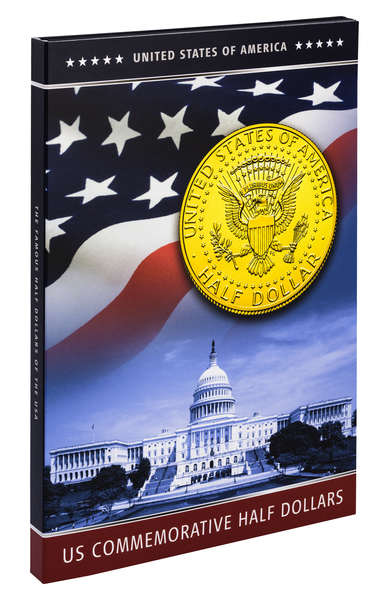 Τα Πιο Διάσημα Νομίσματα ΗΠΑ, 1/2$, Επίχρυσα 24K, 1986-2015 συλλογές νομισμάτων