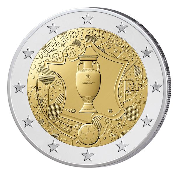 2 Ευρώ, UEFA Euro 2016, Γαλλία, 2016 2 ευρώ