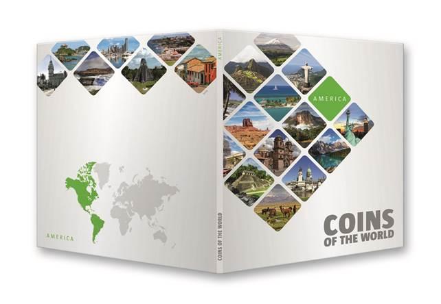 Ταξιδεύω στην Αμερική & στην Λατινική Αμερική με 37 νομίσματα! θεματικά o μικρός συλλέκτης