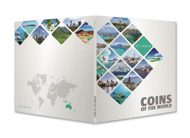 Ταξιδεύω στην Ωκεανία με 24 Νομίσματα! θεματικά o μικρός συλλέκτης