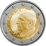 2 Ευρώ, 120 Χρόνια από την Γέννηση του Δ. Μητρόπουλου, Ελλάδα 2016 2 ευρώ