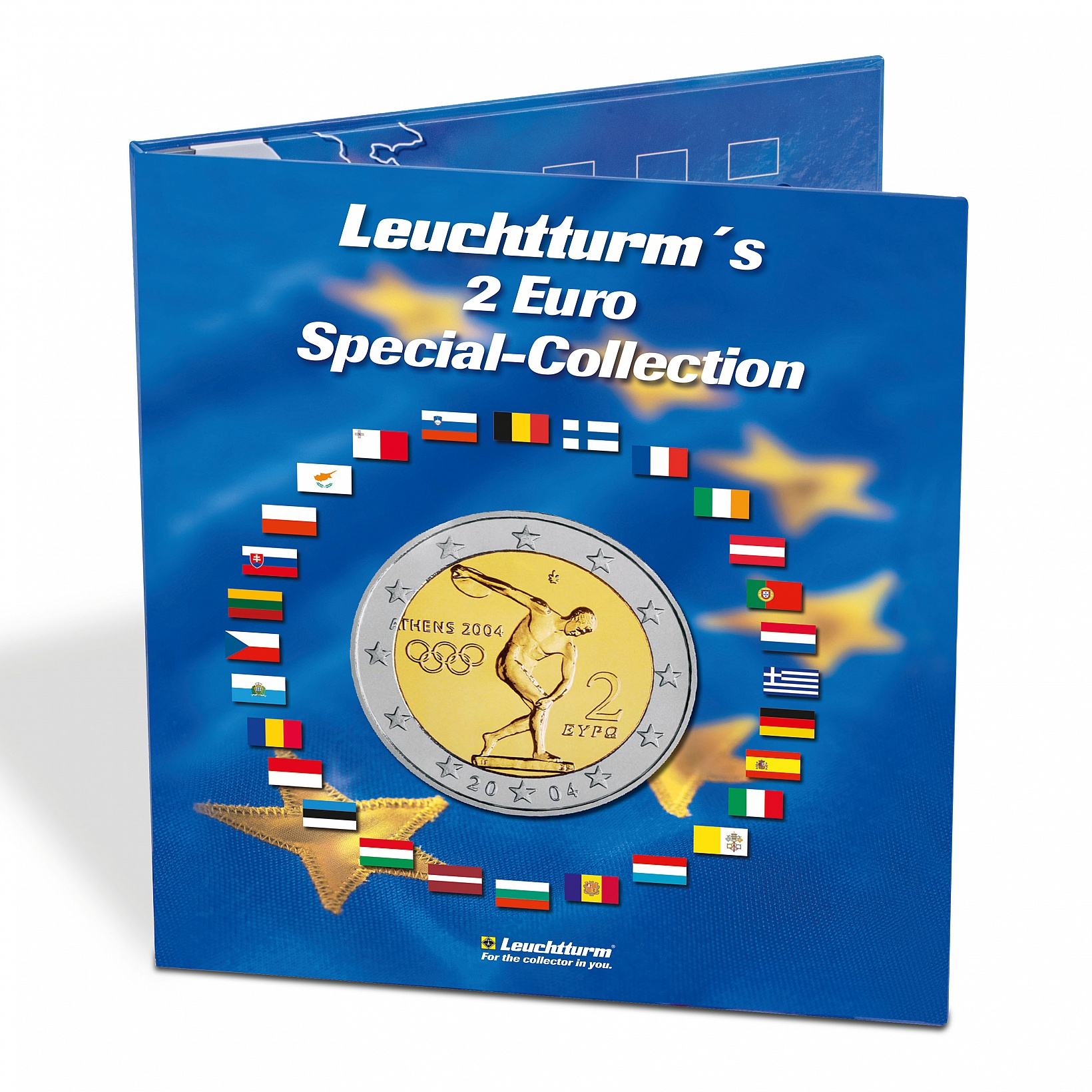 Άλμπουμ νομισμάτων PRESSO, συλλογή κερμάτων 2 € διεθνείς