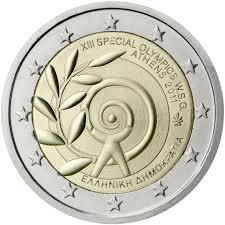 2 Ευρώ, Ελλάδα, Special Olympics, 2011 2 ευρώ