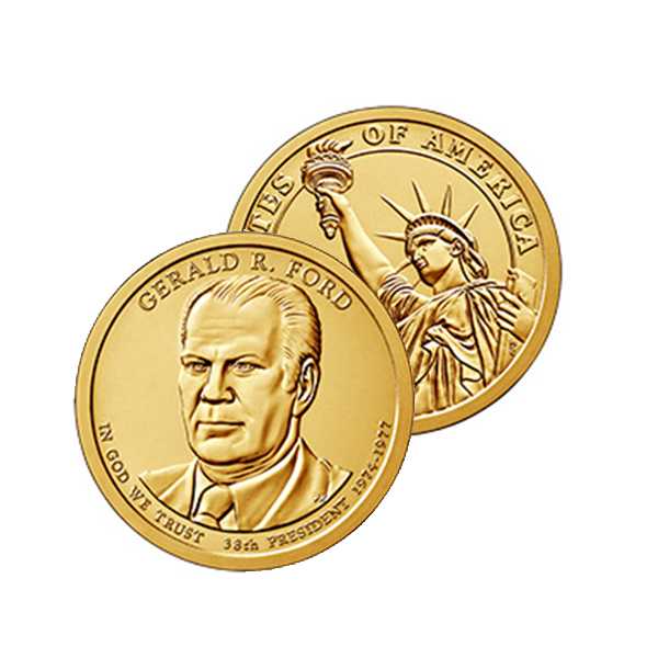 The Presidential $1 Coins θεματικά αμερική νομίσματα