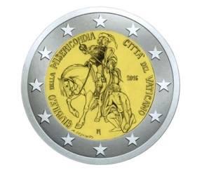 2€, Ιερό Έτος Ελέους, Βατικανό 2016 2 ευρώ