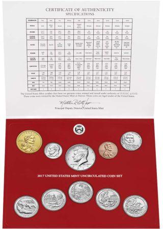 Νεο Σετ ΑΚΥΚΛΟΦΟΡΗΤΩΝ 10 Νομισμάτων, ΗΠΑ, 2017 θεματικά αμερική νομίσματα
