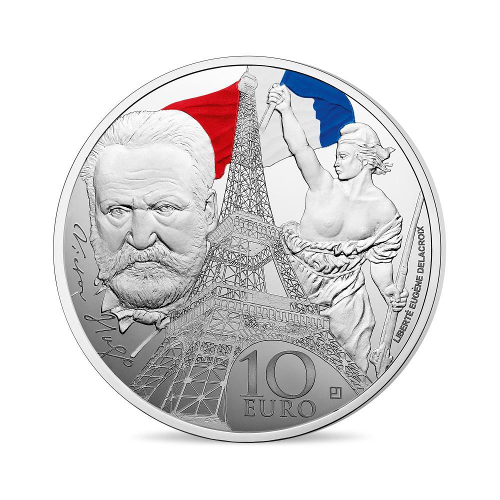 10 Ευρώ, Europa Star, Ασήμι, Έγχρωμο, ΕΠΟΧΗ ΤΟΥ ΣΙΔΗΡΟΥ ΚΑΙ ΤΟΥ ΓΥΑΛΙΟΥ, Γαλλια, συλλογές νομισμάτων  europa star collection