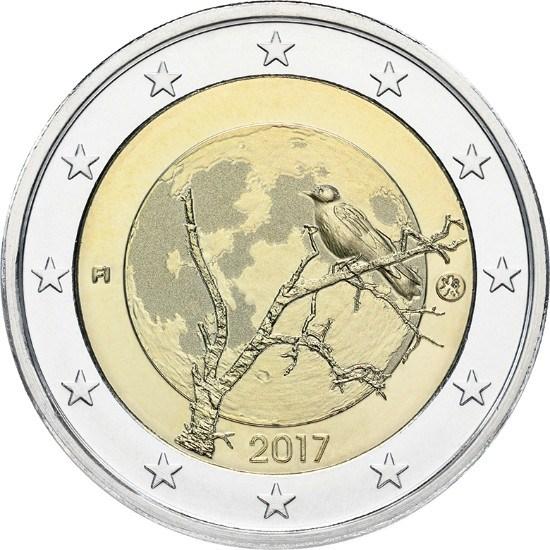 2 Ευρώ, Φινλανδία, Φινλανδική φύση, 2017 2 ευρώ  αναμνηστικά 2