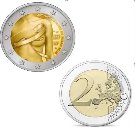 2 Ευρώ, Γαλλία, Μάχη κατά του Καρκίνου του Μαστού, 2017 2 ευρώ