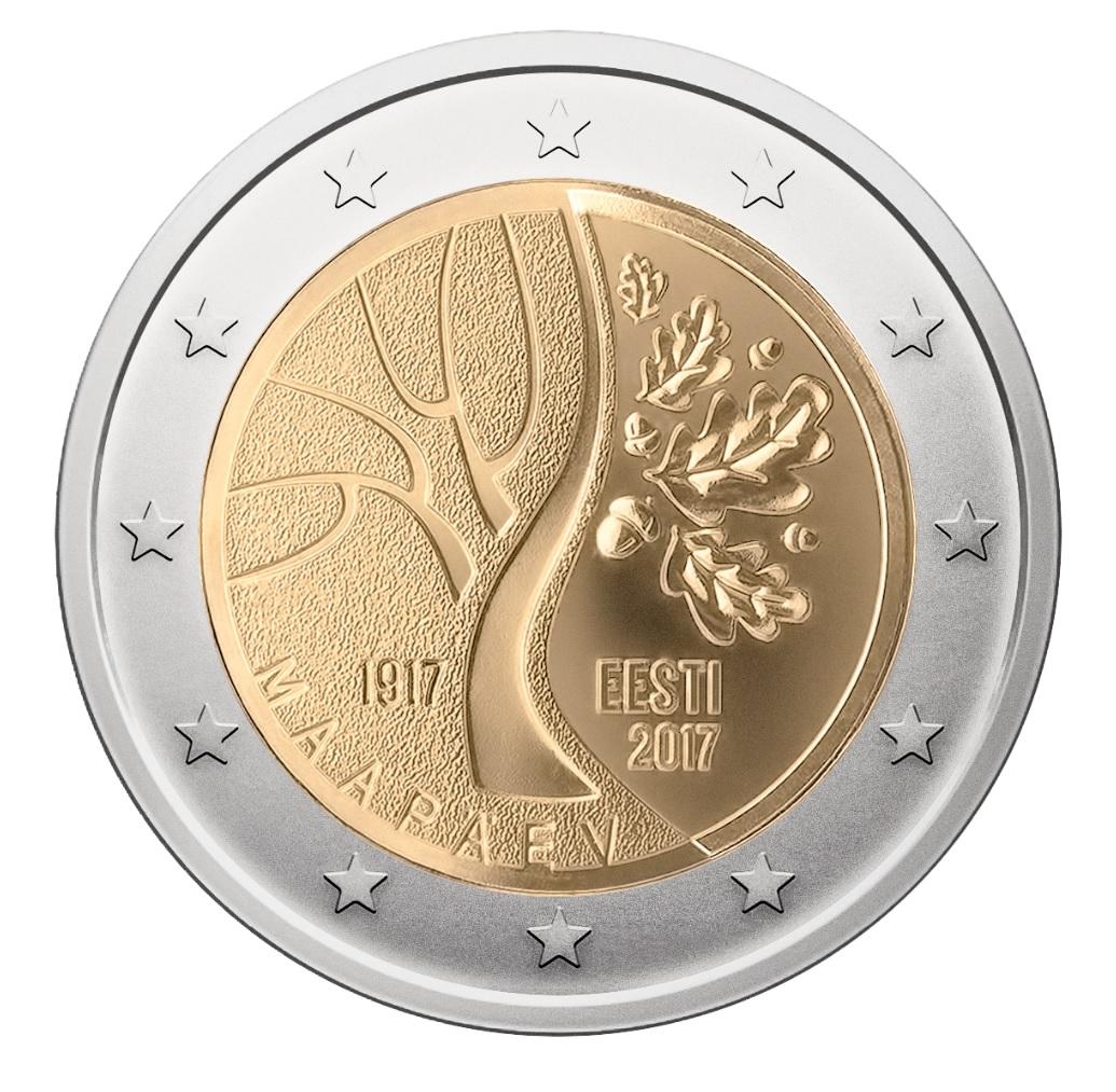 2 Ευρώ, Εσθονία, Ο δρόμο της Εσθονίας για την ανεξαρτησία, 2017 2 ευρώ  αναμνηστικά 2
