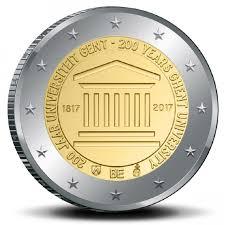 2 Ευρώ, Βέλγιο, 200 Χρόνια από το Πανεπιστήμιο της Γάνδης, 2017 2 ευρώ  αναμνηστικά 2