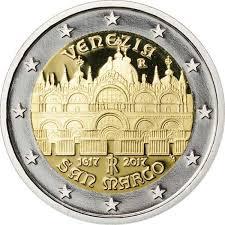 2 Ευρώ, Ιταλία, Ολοκλήρωση της Βασιλικής του Αγίου Μάρκου στη Βενετία, 2017 2 ευρώ  αναμνηστικά 2