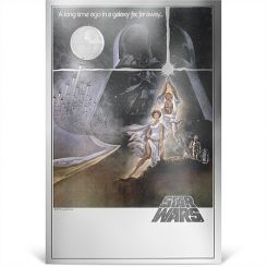 2$, Star Wars: A New Hope - Premium 35g Silver Foil, New Zealand , 2018