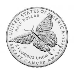 Breast Cancer Awareness 2018 Proof Clad Half Dollar