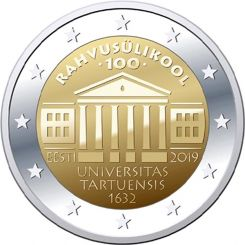 2 euro - University of Tartu