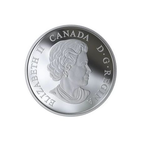 lennon-1 oz. Pure Silver Coin - Give Peace a Chance -CAnada 999