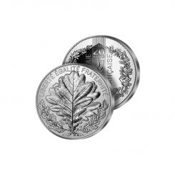 THE OAK 20€ SILVER COIN, FRANCE, 2020