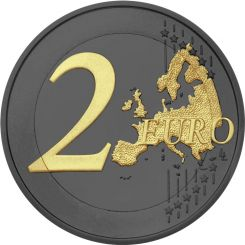 2 Euros, 2.500th anniversary of the Battle of Thermopylae,Greece,2020