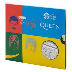 Queen £5 Brilliant Uncirculated Coin UK, 2020 -HOT SPACE