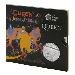 Queen £5 Brilliant Uncirculated Coin UK, 2020 -A KIND OF MAGIC