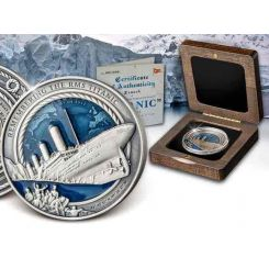 Titanic, 3Oz, 2021, Solomon islands