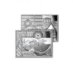 The Magnificent 10 EUROS SILVER HOKUSAI 2020