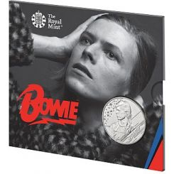 David Bowie 2020 £5 Brilliant Uncirculated Coin