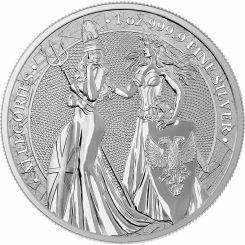 1oz, Ασήμι, Germania_&_Britannia, Germania MInt,2019