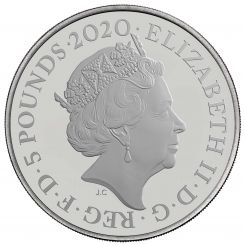 Bond, James Bond 2020 UK £5 Brilliant Uncirculated Coin
