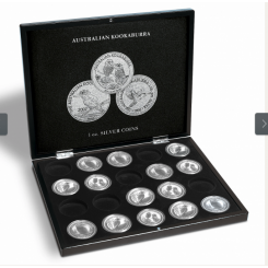 PRESENTATION CASE FOR 20 KOOKABURRA SILVER COINS